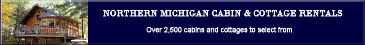 Banner-Northern Michigan Cabin Rentals 728x90
